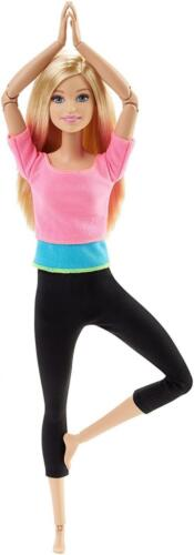 Barbie Doll Kids Toddler Toy Made To Move Yoga Gymnastic Girl Gift Pretend NEW