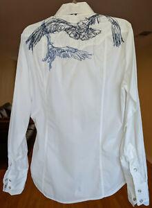 3J-Workshop-Johnny-Was-Embroidered-Button-Down-Shirt-Blouse-Raptor-Medium