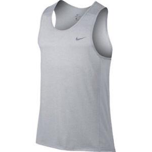 3a32f5767c SZ XL UNIQUE 🆕😊 Nike Breathe Miller Running Singlet Tank Men's ...