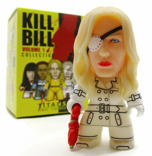 """Titans KILL BILL VOLUME 1 COLLECTION Mini Series ELLE DRIVER 3/"""" Vinyl Figure"""