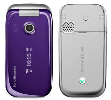 Sony Ericsson Z750I,M-Purple Unlocked Quadband, 2Mp,Camera Gsm Flip Cell Phone