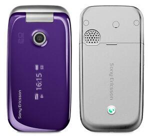 Sony-Ericsson-Z750I-M-Purple-Unlocked-Quadband-2Mp-Camera-Gsm-Flip-Cell-Phone