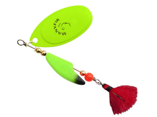 Manyfik Mobby FK-5 12,5g Treble no.2 Spinner lure for perch pike