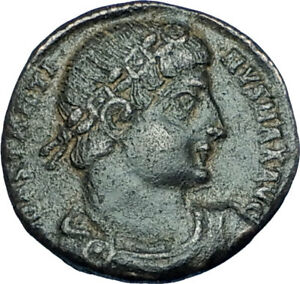 CONSTANTINE-I-the-GREAT-330AD-Authentic-Ancient-Roman-Coin-w-SOLDIERS-i65970
