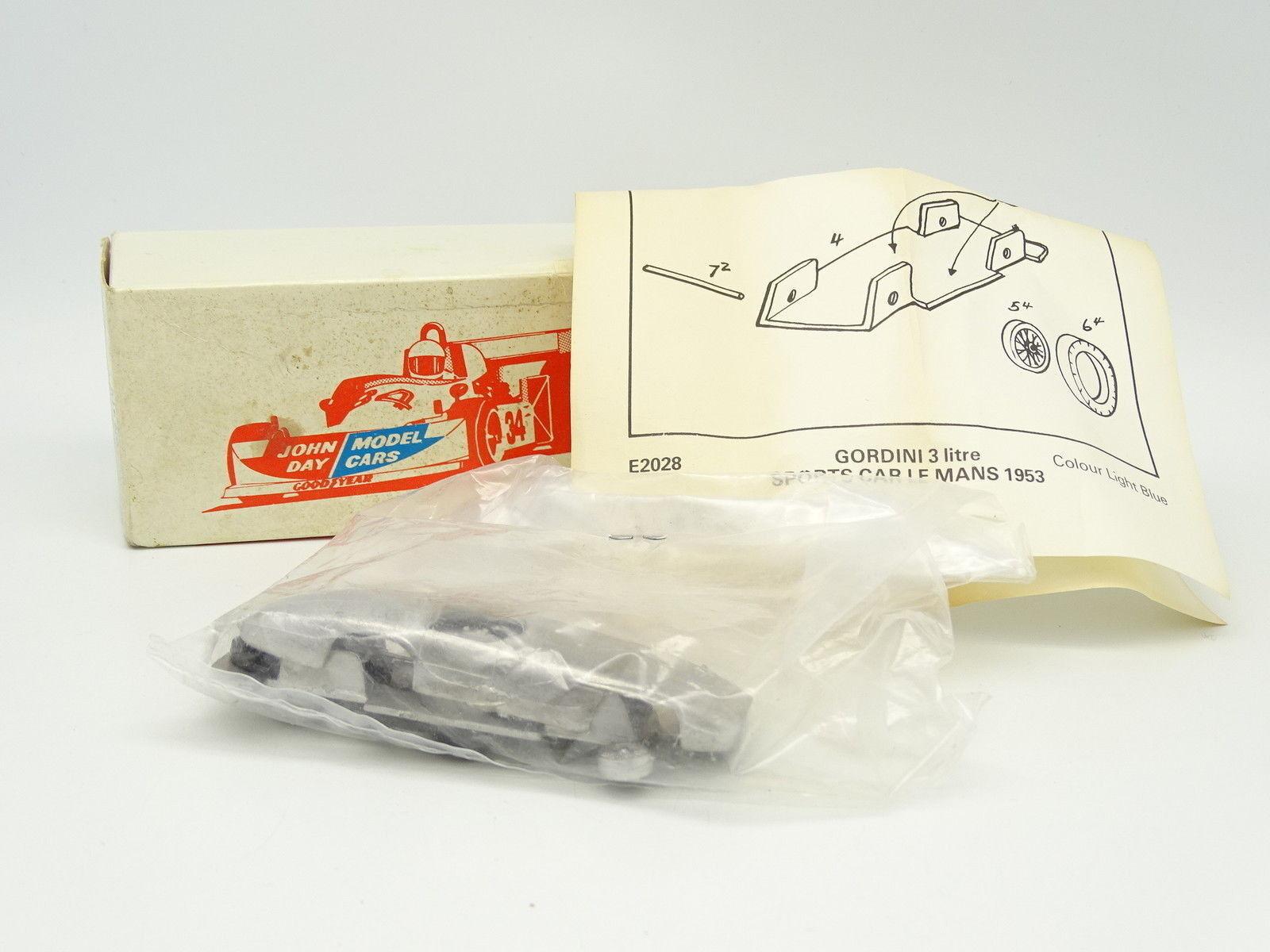 John Day Kit à Monter 1/43 - Gordini 3L Le Femmes 1953 | Pour Assurer Problèmes Pendant Des Années-service Gratuit