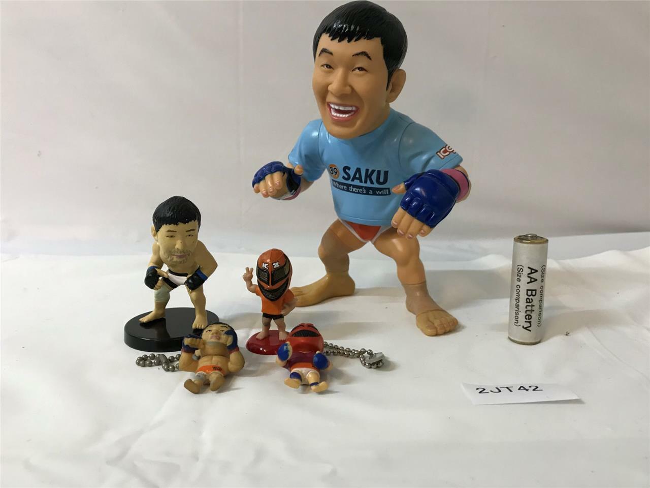 KAZUSHI SAKURABA bambola  PRIDE UFC HAO  COLLECTION UFC mini cifra set  nuovo sadico
