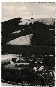 Ansichtskarte Bad Harzburg - Blick vom Butterberg auf das Kreuz des Ostens - s/w
