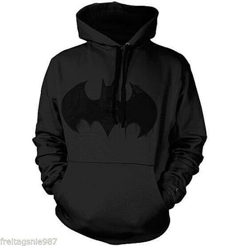 BATMAN INKED LOGO hooded sweat-shirt cotton officially licensed
