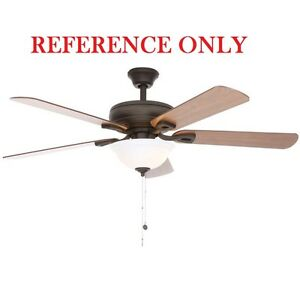 Hampton bay rothley 52 in indoor oil rubbed bronze ceiling fan image is loading hampton bay rothley 52 in indoor oil rubbed aloadofball Images