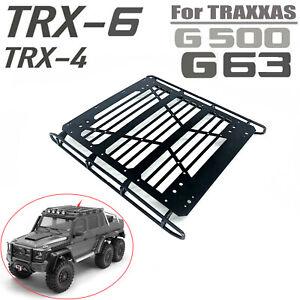 Decoration-de-porte-bagages-metal-pour-voiture-TRAXXAS-TRX-4-TRX-6-6X6-G63-G500