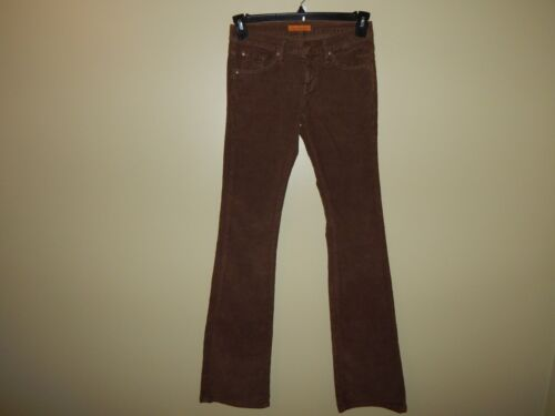 James Jeans Cured by Seun Fine Wale Cords Brown Bo
