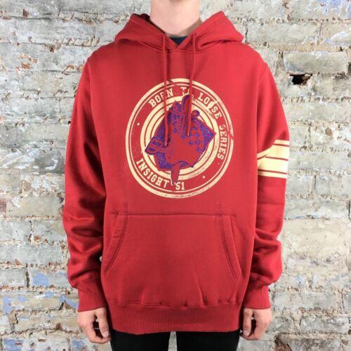 Insight Sweatshirt met Courage l capuchon New Merk Rood Maat Hoodie S Kid m rpIt1r