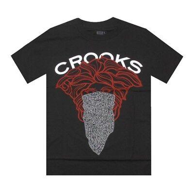 Workmanship In Crooks And Castles Exclusive Bandito Black T Shirt Pys001 Exquisite
