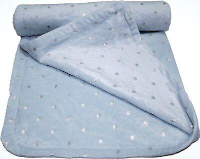 Soft plush fleece pram//moses basket//crib baby blanket Cream