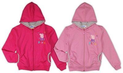 Peppa Wutz Sweatjacke Jacke 92 98 104 110 116 122 128 Mädchen Strickjacke Pig