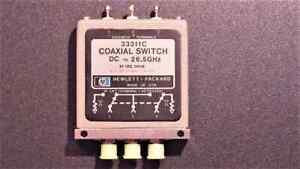 SWITCH AGILENT HP 33311C - microwave rf microonde