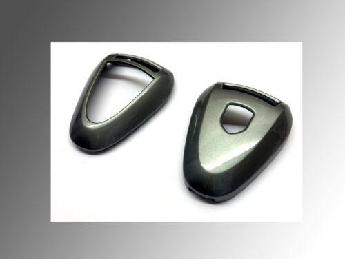 Metallic Grey Remote Key Shell Cover For Porsche Silver Head 997.1 987 Cayman