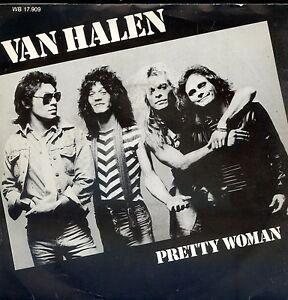 7inch-VAN-HALEN-pretty-woman-HOLLAND-1982-EX