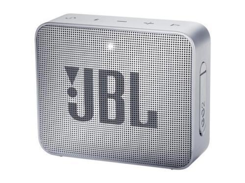 Gray JBL GO 2 Portable Bluetooth Waterproof Speaker