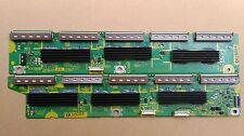 """Y schede buffer da 50 """"Panasonic TV AL PLASMA TX-P50GT30B tnpa5336 & tnpa5337"""