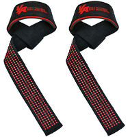 Weight Lifting Straps Padded Hand Wrist Brace Bar Training Wrist Bodybuilding on sale