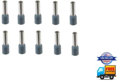 10pcs 12 Gauge Wire Ferrule Amplifier Speaker 12 AWG Tin Copper Amp Ferrules
