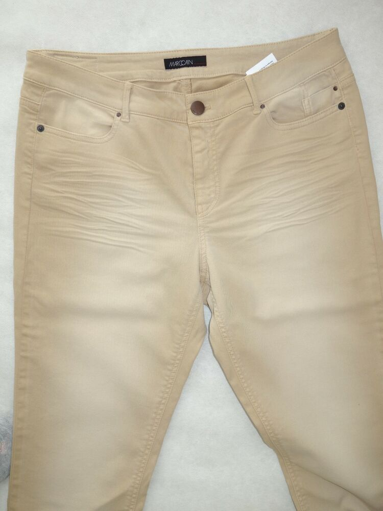 ** Marc Cain Jeans Confortable Avec Le Stretch N4 (40) Neuf