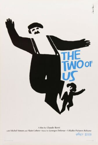 THE TWO OF US POSTER FILM A4 A3 A2 A1 LARGE FORMAT CINEMA MOVIE