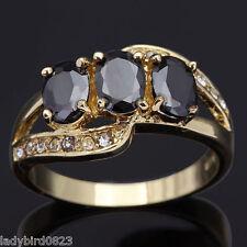 Ring Gr 57  Fingerring Gold gefüllt Herrenring Goldring Damenring Schmuck Steine