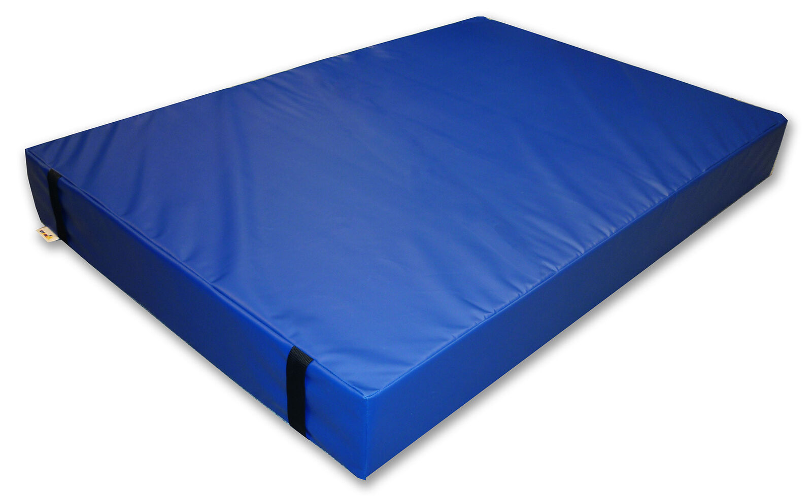 Implay® Gymnastics 610gsm PVC Foam bluee Gym Landing Crash Mat - 180 x 120 x 10cm