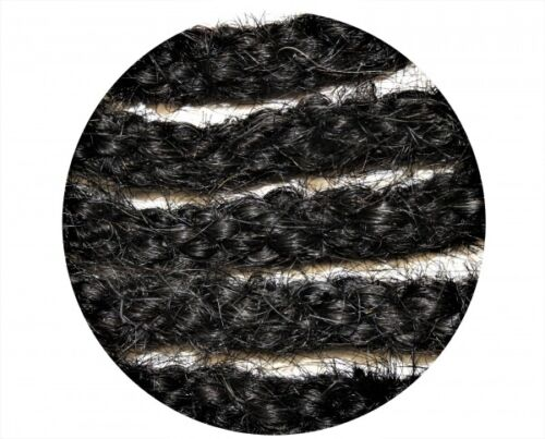 Horse Hair Mecate schwarz aus Pferdehaar geflochten 670cm lang