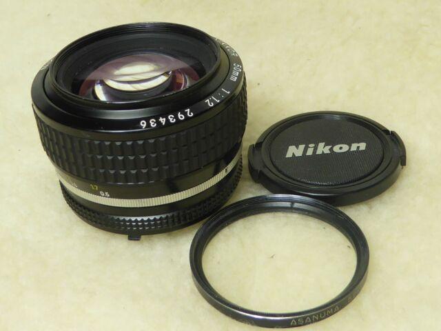 Nikon Nikkor 50mm f/1.2 AI-S Standard Prime Lens gewartet und gereinigt Sept 2019