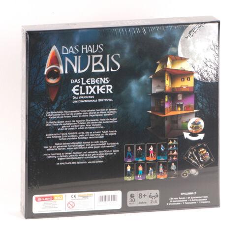Das Lebenselixir 3-D Brettspiel Studio 100 Das Haus Anubis Elixier