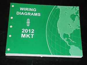ford oem service manual 2012 lincoln mkt wiring diagram book ebay rh ebay com