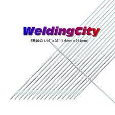 "WeldingCity 5-Lb ER4043 Aluminum 4043 TIG Welding Filler Rod 1/16""x36""   5-Lb"