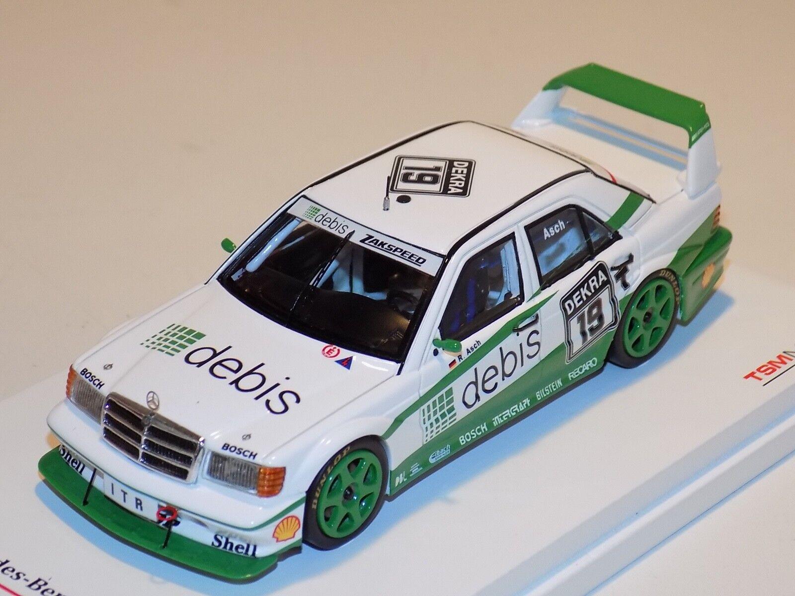 1 43 True Scale Models TSM TSM TSM Mercedes Benz 190E Evo2 1991 Car TSM124348 646da7