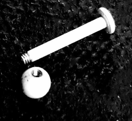 Labret Tragus Cartílago Hélice Blanco Monroe Labios Barra Oreja Anillo Semental Perforación del Oído