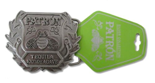 Patron Tequila Bee 100/% Agave Logo Metal Belt Buckle New Official Merch