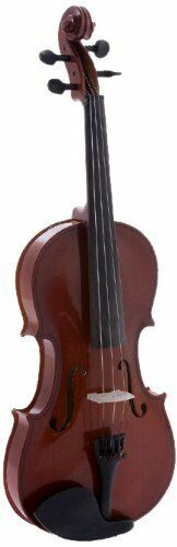 D'Luca Meister Ebony Fitted Beginner Violin Outfit 4 4