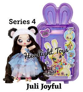 Series-4-Na-Na-Na-Surprise-Juli-Joyful-Panda-2-IN-1-Fashion-Doll-Plush-Purse-NEW