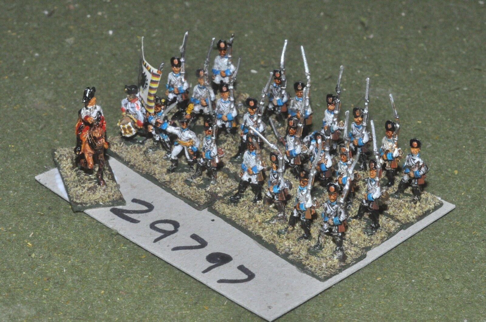 15mm napoleonic   austrian - regiment 24 figures - inf (29797)