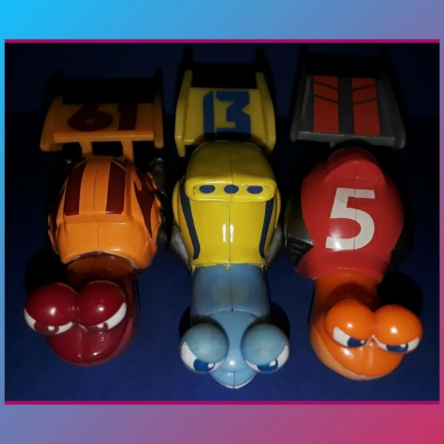 Mattel TURBO Snail Lot Roller Race Car Toy Figures ...