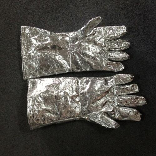 Am /_1Pair Economic 700//1000 Grad Hoch Hitzebeständig Dicker Aluminium Folie Glo
