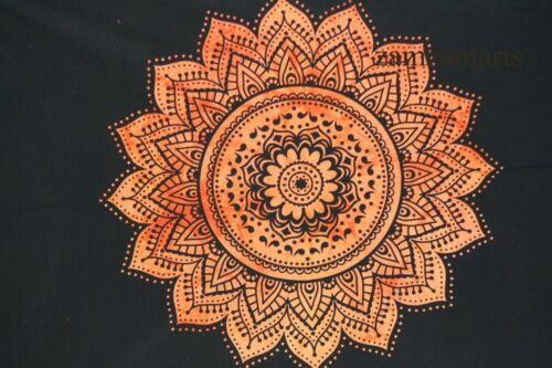 Mandala Tie Dye Decorative Wall Hanging Poster Indian 100/%Cotton Tapestry Fabric