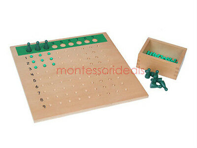 New Montessori Division Bead Board