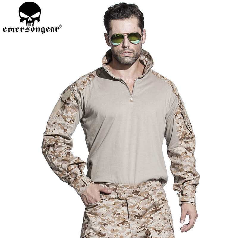 G3 Combat Training Shirt Military T-shirt Airsoft Tactical Hunting Camo  AOR1  support wholesale retail