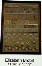 Primitive SAMPLER Fine Fancywork PATTERN cross stitch counted thread