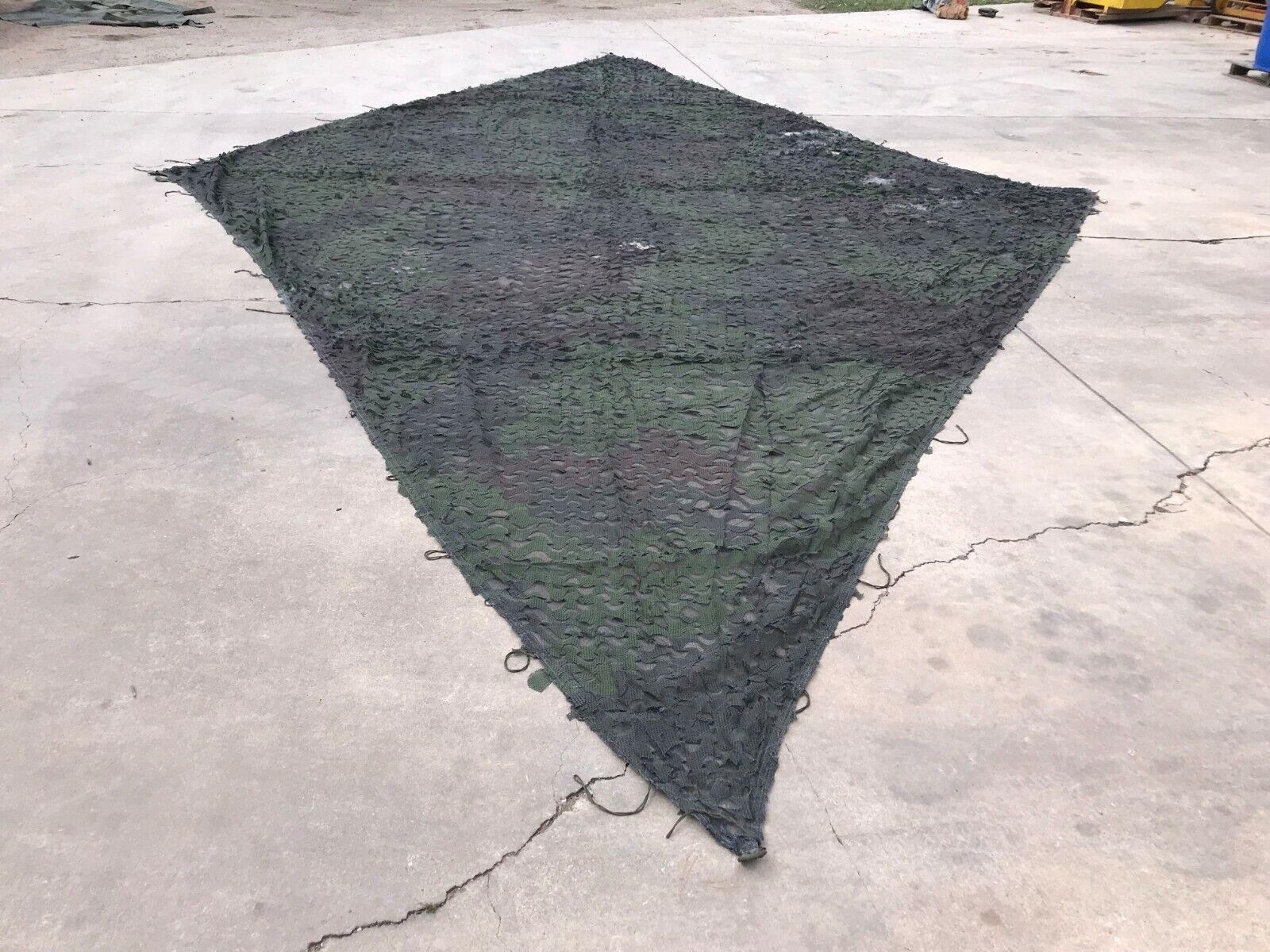 rojo De Camuflaje Militar Camo Net Diamante 27' X 16' Woodland radar de dispersión