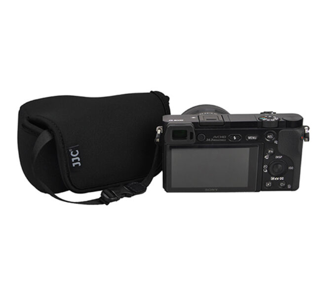 Camera Pouch Case Bag fits Sony A6000 a5100 a5000 a3500 a3000 +16-50mm Lens