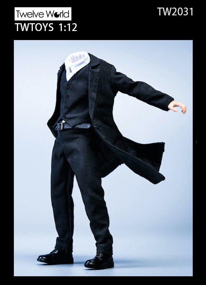"TWTOYS 1//12th TW2031 Coat Windbreaker Jacket Shirt Pant Suit Fit 6/"" Crazy Figure"